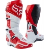 Fox Racing Instinct 2.0 Stiefel White-Red 2018
