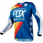 Fox Racing 360 Jersey Draftr Blue 2018 XL # SALE