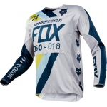 Fox Racing 360 Jersey Draftr Light Grey 2018 XL # SALE