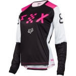 Fox Racing Women's Switch Jersey Black-Pink Ladies 2018 XL # SALE