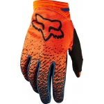 Fox Racing Women's Dirtpaw Gloves Grey-Orange Ladies 2018 9 - M # SALE