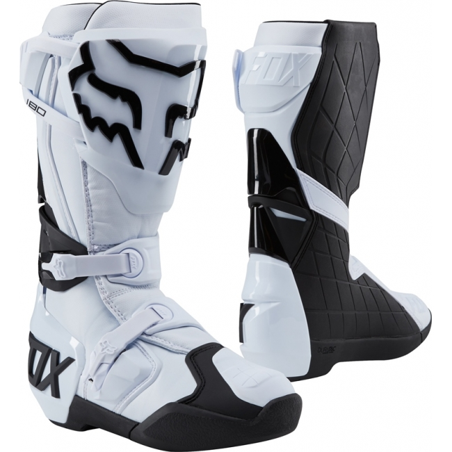 Fox Racing 180 Stiefel White 2018