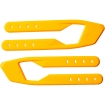 Shift MX Whit3 Label Stiefel Silicon Strap Yellow