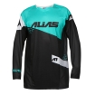 Alias A1 Shirt The Standard Black-Green 2017 # SALE