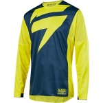 Shift MX 3lack Label Shirt Mainline Yellow-Navy 2019