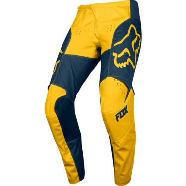Fox Racing 180 Pants Przm Navy-Yellow US 32 - D 48 2019 # SALE