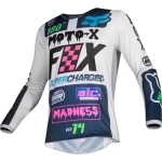 Fox Racing 180 Jersey Czar Light Grey L 2019 # SALE