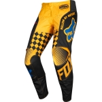Fox Racing 180 Pants Czar Black-Yellow US 32 - D 48 2019 # SALE
