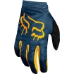 Fox Racing Women's Dirtpaw Gloves Navy-Yellow Ladies 10 - L 2019 # SALE