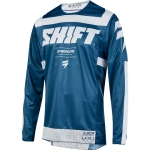 Shift MX 3lack Label Shirt Strike Blue 2019