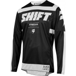 Shift MX 3lack Label Shirt Strike Black-White 2019