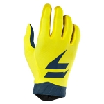 Shift MX 3lack Label Handschuhe Air Yellow-Navy 2019