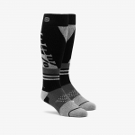 100% Hi-Side Performance Moto Socks Black-Grey
