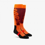 100% Hi-Side Performance Moto Socks Burgundy
