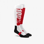 100% Hi-Side Performance Moto Socks Red-Black
