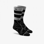 100% Fracture Athletic Socks Black
