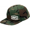 100% Machine Snapback Hat camo