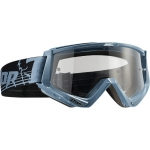 Thor Conquer Goggle Steel-Black # SALE