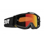 Thor Sniper Pro Goggle Solid Black Spring 2020