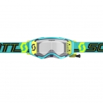 Scott Prospect WFS Goggle blue-teal / clear works 2019