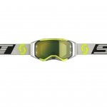 Scott Prospect Goggle black-grey / yellow chrome works 2019