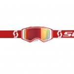 Scott Prospect Goggle white-red / orange chrome works 2019