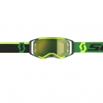 Scott Prospect Goggle green-black / yellow chrome works 2019