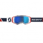 Scott Prospect Goggle red-blue / electric blue chrome works 2019