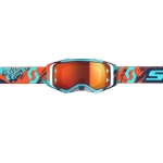Scott Prospect Goggle blue-orange / orange chrome works 2019