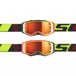 Scott Prospect Goggle yellow-red / orange chrome works 2019