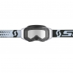 Scott Prospect Enduro Brille black-white / clear 2019