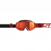 Scott Hustle MX Goggle red-white / orange chrome works 2019