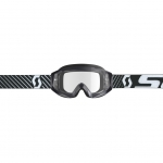Scott Hustle X MX Goggle black-white / clear works 2019