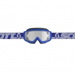 Scott Split OTG Goggle blue-white / clear works 2019