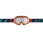 Scott Split OTG Goggle orange-blue / clear works 2019