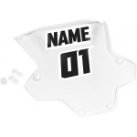 Thor Sentinel GP Protector Clear Number Plate