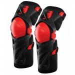 Thor Force XP Kneeguards Black-Red # SALE