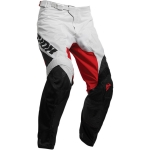 Thor Pulse Air Pants Factor White-Red Spring 2019