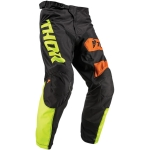 Thor Pulse Pants Savage Big Kat Black-Lime 2019 # SALE