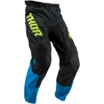 Thor Pulse Air Pants Acid Electric Blue-Black 2019 # SALE