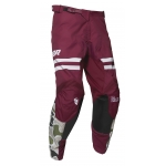 Thor Pulse Pants Fire Black-Maroon Spring 2020