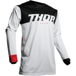 Thor Pulse Air Jersey Factor White-Red Spring 2019