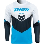 Thor Sector Jersey Chev Blue-Midnight 2022
