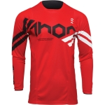 Thor Pulse Jersey Cube Red-White 2022