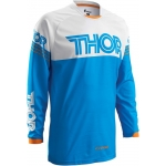 Thor Phase Jersey Hyperion Blue-White L # SALE
