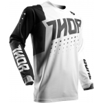 Thor Pulse™ Jersey Activ White-Black 2017 M # SALE