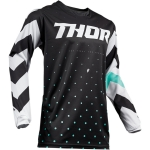 Thor Pulse Jersey Stunner Black-White 2019 # SALE