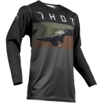 Thor Prime Pro Jersey Fighter Charcoal-Camo 2019