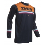 Thor Pulse Jersey Pinner Midnight-Orange 2020 # SALE