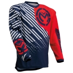 Moose Racing Qualifier Jersey Red-White-Navy 2020